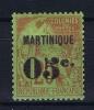 Martinique Yv Nr  11 MH/* Avec Charniere - Nuovi