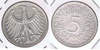 ALEMANIA 5 DEUTSCHE MARK F 1968 PLATA SILVER X - [ 7] 1949-… : RFA - Rep. Fed. Alemana