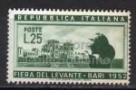 MC 1952 Repubblica Fiera Del Levante 25 Lire  MNH** - 1946-.. République