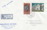 Monnaies - Chypre - Lettre Recommandée De 1968 - Oblitération Nicosia - Cyprus (Republic)