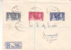 Couronnement De George VI - Chypre - Lettre Recommandée De 1937 ° - Oblitération Famagusta - Cyprus (Republic)