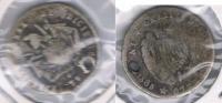 BOLIVIA POTOSI MODULO MEDIO SOL 1865 AL EJERCITO PLATA SILVER X DAÑADO - Bolivie