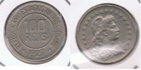 BRASIL 100 REIS 1927 X - Brasil
