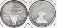 CANADA DOLLAR 1982 PLATA SILVER X - Canada