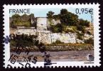 """BLAYE Issu Du Bloc """"LES CHEMINS DE ST JACQUES DE COMPOSTELLE"""" Cachet Rond - France"""