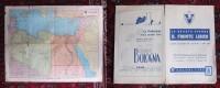 Carta Geografica - La Quarta Sponda IL FRONTE LIBICO. Ente Toponomastico Italiano - Carte Geographique