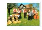 Appenzeller Streichmusik Schmid - Musiciens Violon Accordéon - Grosses Cloches - - Music And Musicians
