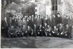 [58] Nièvre> Non Classés Fourchambault Carte Photo Café Aux Tilleuls Banquet Des 50 Ans ? - Ohne Zuordnung