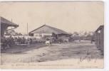 Autun - La Gare, Embarquement Du Bétail Un Jour De Foire - France
