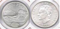 ESPAÑA JUAN CARLOS I 2000 PESETAS 1996  PLATA SILVER X2 - [5] 1949-…: Monarchie
