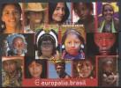Belgien**BRASIL-BRASILIEN-BLOCK 2 Mkn-INDIANER Mit Kopfschmuck-CEPT MITLAUFER-EUROPALIA 2011-PF - Briefmarken