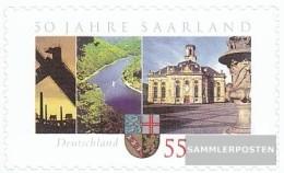 BRD (BR.Deutschland) 2595 (completa Edizione) Selbstklebende Problemaabe MNH 2007 Saar - [7] Repubblica Federale