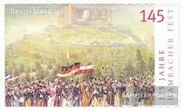 BRD (BR.Deutschland) 2605 (completa Edizione) Selbstklebende Problemaabe MNH 2007 Hambach Giù - [7] Repubblica Federale