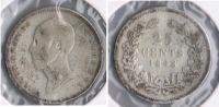 HOLANDA  25 CENTS GULDEN 1948 PLATA SILVER X - [ 3] 1815-… : Reino De Países Bajos