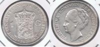 HOLANDA GULDEN 1939 PLATA SILVER X BONITA - [ 3] 1815-… : Reino De Países Bajos