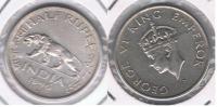 INDIA HALF RUPIA RUPEE 1946 PLATA SILVER X - India