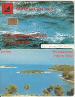 ALBANIA - Landscape, Albtelecom Telecard 50 Units, 09/00, Used - Landschaften