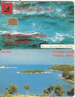 ALBANIA - Landscape, Albtelecom Telecard 50 Units, 06/00, Used - Paysages