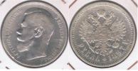 RUSIA RUBLO ROUBLE 1897 PLATA SILVER X - Rusia