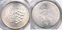VATICANO  PABLO VI 500 LIRA 1971 PLATA SILVER X - Vaticano (Ciudad Del)