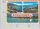 CARTOLINA NV ITALIA - BORDIGHERA (IM) - Riviera Dei Fiori - Panorama - Vedutine - 10 X 15 - Imperia