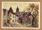 Original Propaganda Kdf Postkarte Gau Saarpfalz Hornbach 1940 Zerstört Schöne Ansicht - Weltkrieg 1939-45