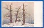 Malerei; Friedrich Caspar David; Hünengrab Im Schnee - Malerei & Gemälde