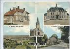 Monthois-Multi-vues (Légère Corne D'angle En Bas à Droite,voir Scan)-(CPM) - Sonstige Gemeinden