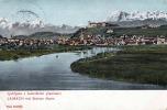 LAIBACH LJUBLJANA - Mit Steiner Alpen, Karte Gel.1905? Transportspuren - Slowenien