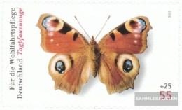 BRD (BR.Deutschland) 2504 (completa Edizione) Selbstklebende Problemaabe Usato 2005 Farfalle - Usati