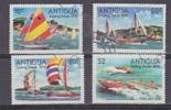 Antigua 1978 Sailing Week 4v Used (25138) - Antigua En Barbuda (1981-...)