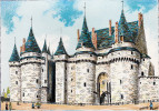 CP - 35 - VITRE - Le Château - Barré Et Dayez - Barday - Illustrateur - 2072B - Vitre