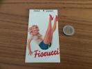 "AUTOCOLLANT, Sticker ""Fiorucci"" (Pin Up, Italie) - Autocollants"