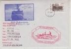 Norway 1987 Heliflight From Polarstern To Longyearbyen, Spitsbergen (25144) - Polar Flights