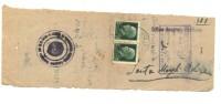 ITALIA, UFF.ANAGR.BESTIAME, 1945 COMUNICAZIONE - 5. 1944-46 Lieutenance & Umberto II