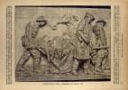 I Martiri Del Lavoro . Bassorilievo Di Vincenzo Vela - Dell'800 - Lithographies