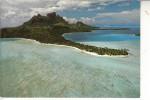 TAHITI - BORA-BORA, Matira Point, Vue Airienne - Tahiti