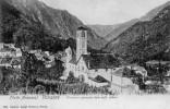Cpa 1908 VANZONE, Panorama Generale Vista Sulle La Chiesa, Petite Ville Au Centre D´un Vallon (47.81) - Verbania