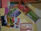 IRAQ  PHON CARD :  2003-2008  /  9  USED +  IRAQ PHON  ( ASYIA  CELL) CARDS +  Holder - RARE - Irak