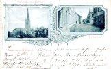 110832  Gruss Aus Aldekerk - Pfarrkirche Und Pastorat, Hochstrasse  1902 - Germany