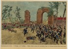Commemorazioni Patrie - 1 Ottobre Al Volturno - Ultimo Deciaivo Attacco Dei Garibaldini E Fuga Dei Borbonici Da Santa Ma - Lithographies