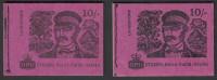 GB 1968 10/- Machin Pre Decimal Booklets: David Livingstone. SG XP4, XP5