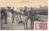 CONGO FRANCAIS - Le Tipoge à Quatre Chez Les Loangos - Congo Français - Autres