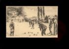 SAUMUR Maine Et Loire : Les Joueurs De Boules Sur Les Bords De Loire  Illustration Georges Grellet - Saumur