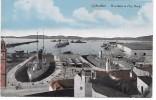 GIBRALTAR - Warsships In Dry Dock - Gibraltar