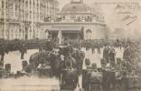 Les Souverains D'Italie  Le Placement Des Troupes Avant L'arrivée CPA 1903 - Manifestations