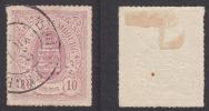 Yv 17A 17 A Lilas- Rouge / Oblitéré O Avec Reste Charnière / TRES BEAU - SEHR SCHÖN - ...-1852 Préphilatélie