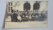 15W - Photo Carte Homme Dont Militaire Cachet Allemand Verso Kantine Off Gef Lager Celle Schloss Ww1 - Guerra, Militari