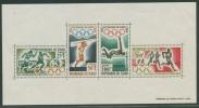 Tschad 1964 Olympiade Tokio Block 1 Postfrisch (G20655) - Ciad (1960-...)