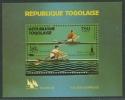 Togo 1980 Olympiade Moskau Block 155 A Postfrisch (G20617) - Togo (1960-...)